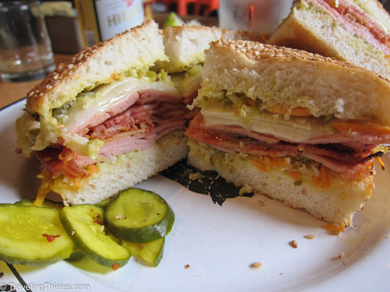 Muffaletta at Cochon Butcher