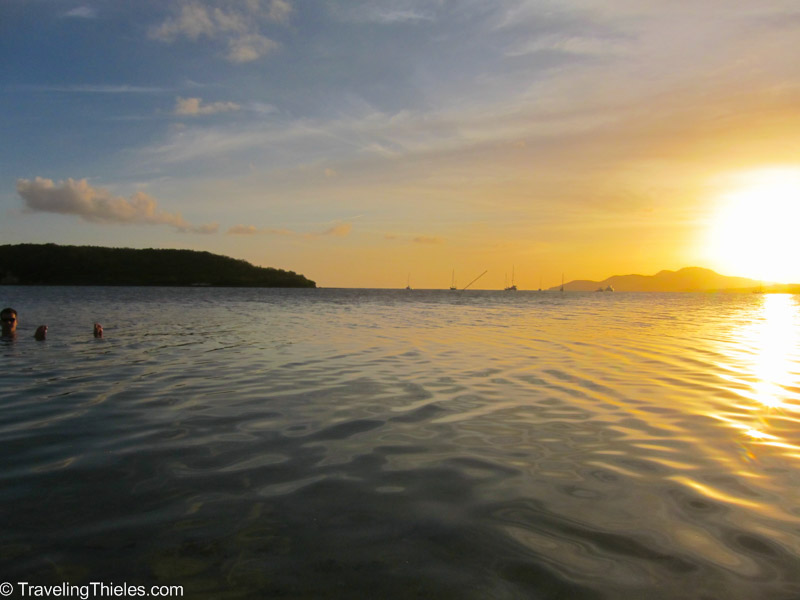 Bay near Esperanza