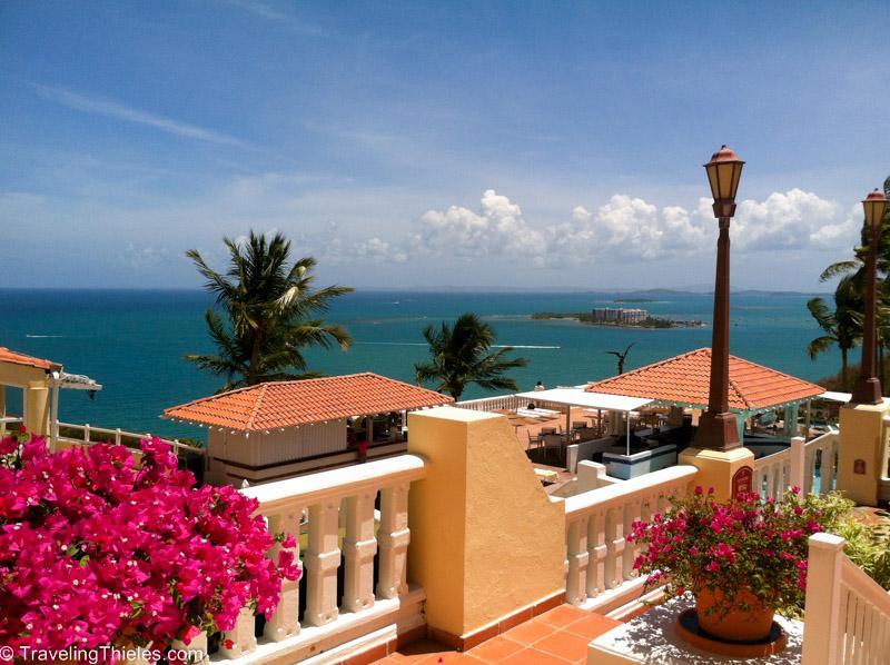 Beautiful grounds of El Conquistador - reminiscent of an Italian villa