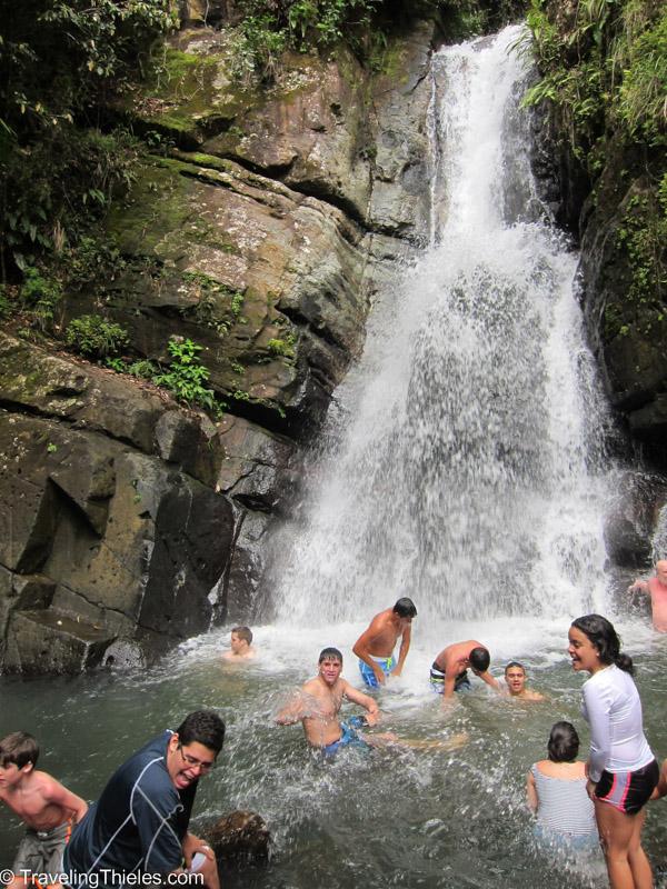 La Mina in El Yunque