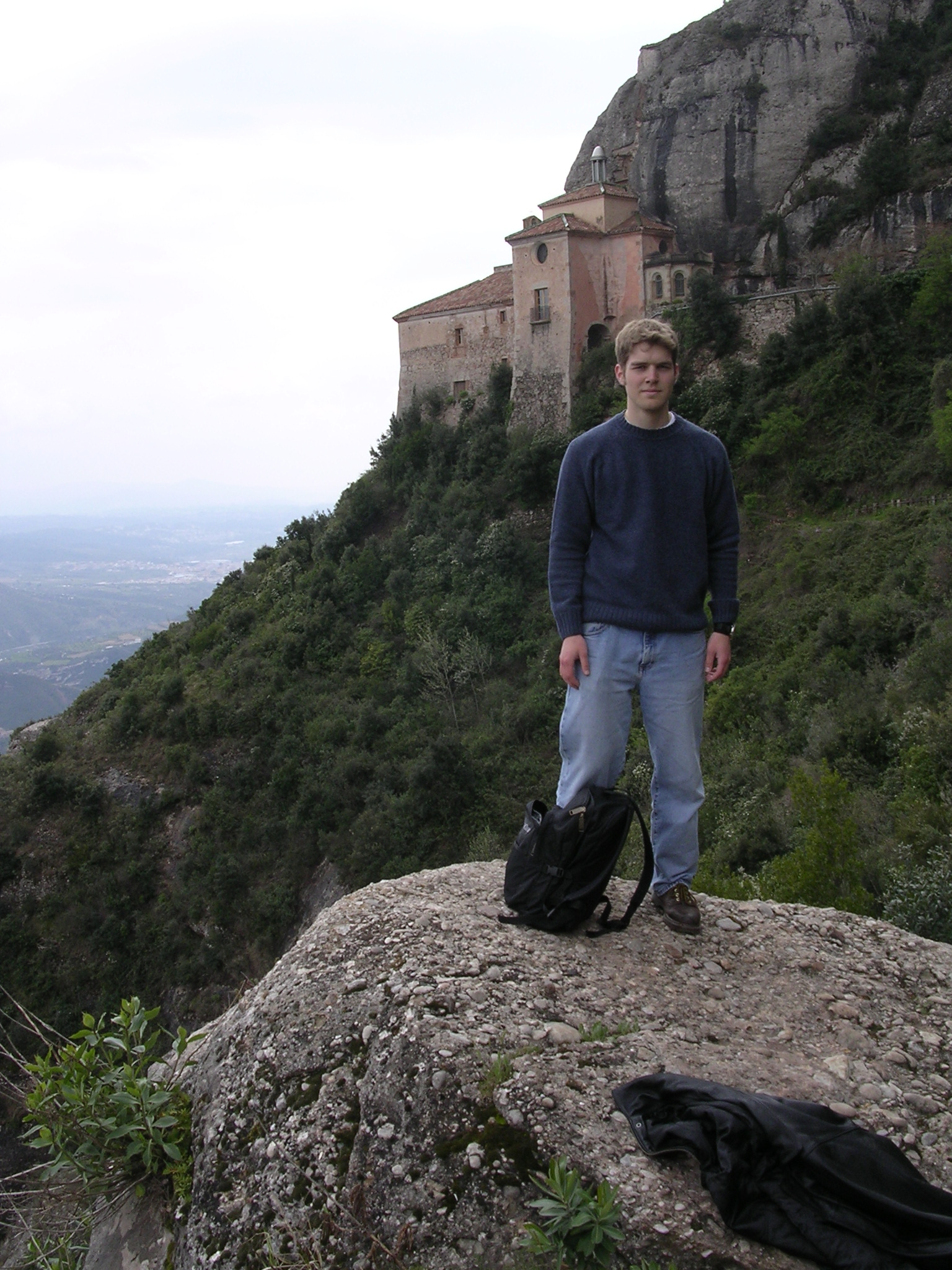 "In 2004 I had my first international travel experience while ""studying"" in Spain"